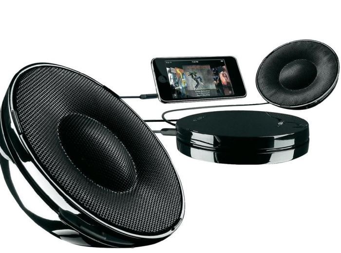 Philips SBA1520/00 Black Universal Portable Speakers