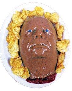 Face Halloween Gelatin Mold