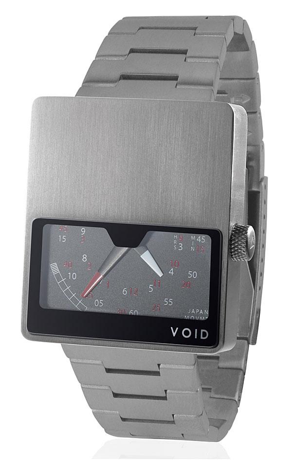 Void Watch Retro Gauge Stainless