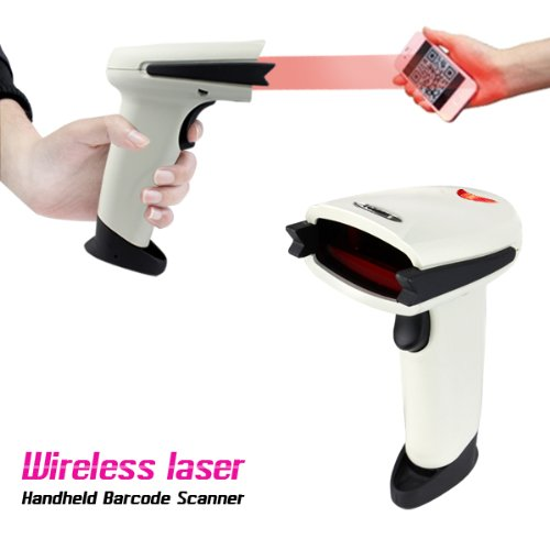 Handheld Laser USB Wireless Barcode Scanner Bar Code Reader