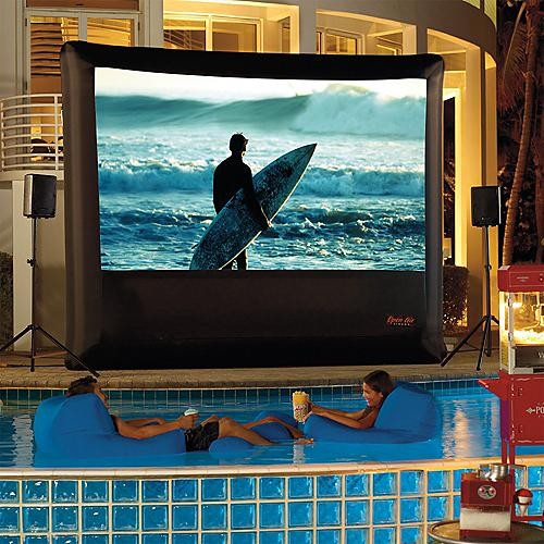 Outdoor Theater System with Playstation 3 - 16' - Frontgate