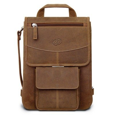 Premium Leather iPad Flight Jacket w/ Backpack Option