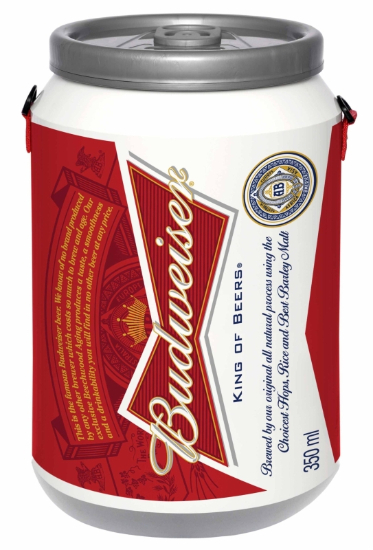 Can Shaped Cooler with 24 Can Capacity Plus Ice