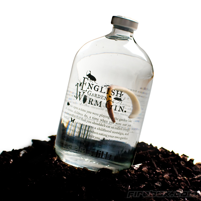 English Garden Worm Gin