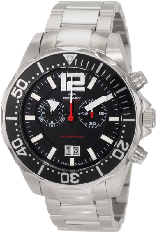 Aquaspeed Sports Chronograph Bracelet Swiss-Made Watch