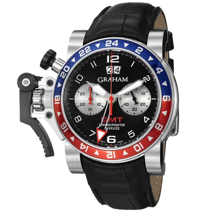 Graham Chronofighter Oversize GMT Men's Automatic Watch