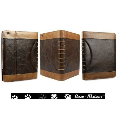 Vintage Leather Case for iPad 2 / iPad3 / the New iPad built-in Stand for Apple Ipad 3 (Latest Generation) Tablet