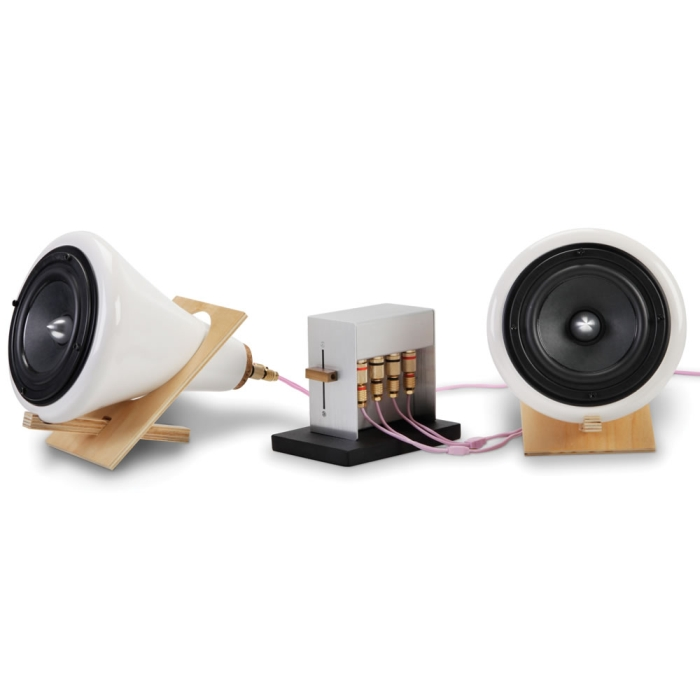 The Sound Enhancing Ceramic Speakers
