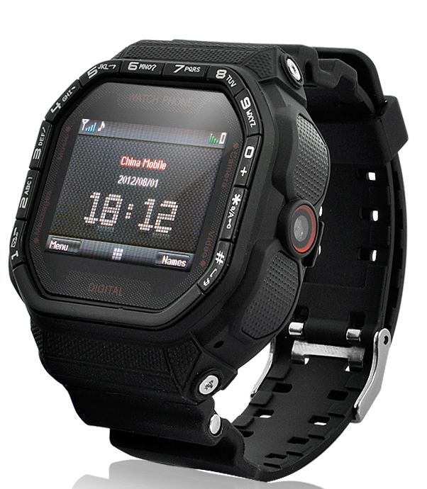Sports Watch Phone - 1.5 Inch Touch Screen