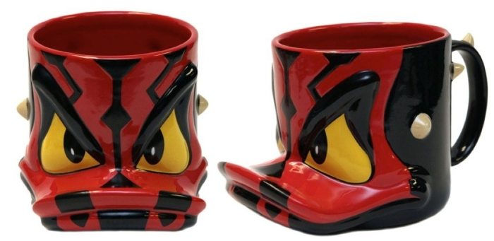 Donald Duck Darth Maul Ceramic Mug
