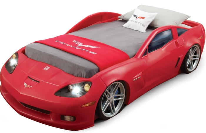 Corvette Bed with Lights