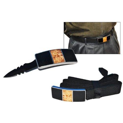 hidden blade buckle weapon sharp