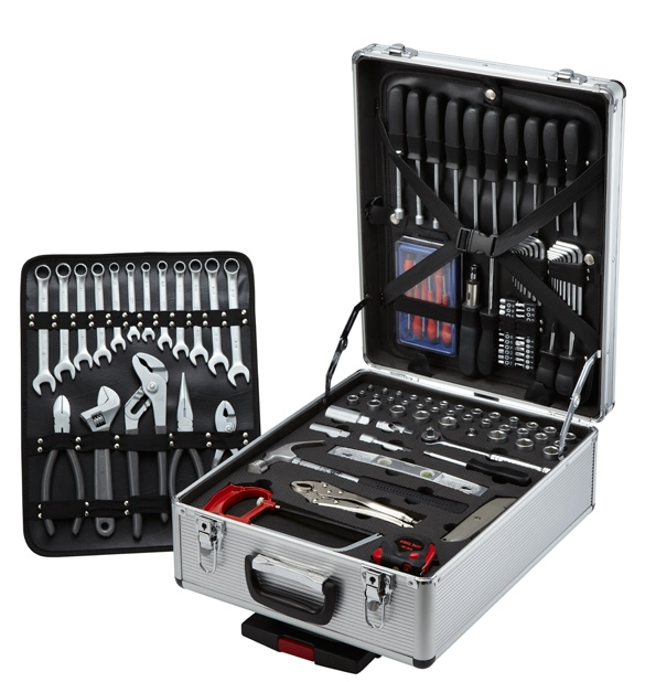 124 pc Vanadium Tool Set