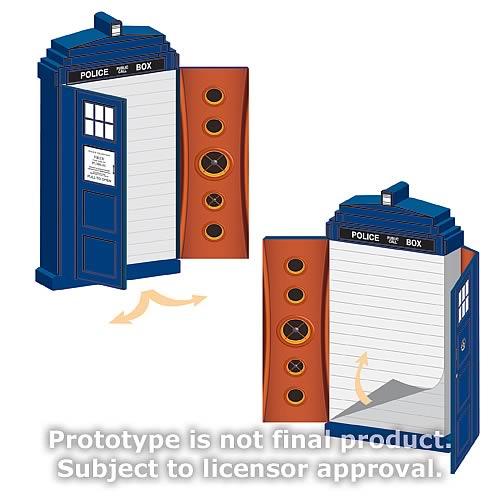 Doctor Who TARDIS Shaped Journal
