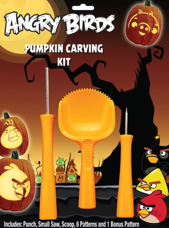 Paper Magic Angry Birds Pumpkin Carving Kit