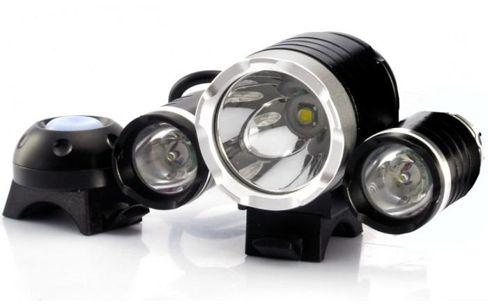 3000 Lumens LED Bicycle Headlight and Headlamp