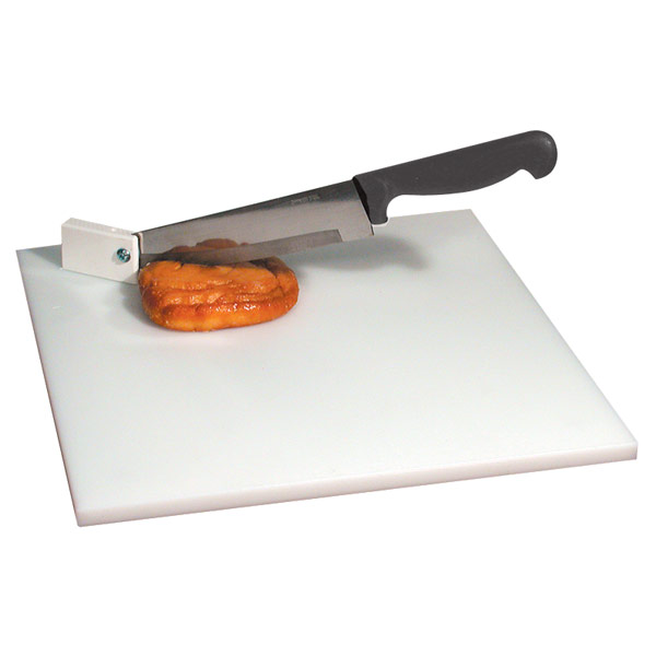 Cutting Board with Pivot Knife White Board