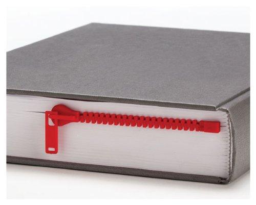 ZIPPER Bookmark Book Page Holder