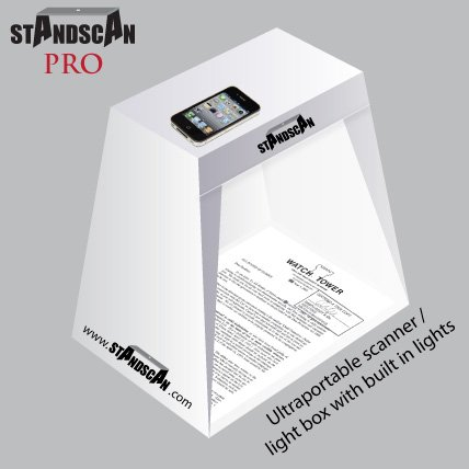 Smartphone Accessory, Portable, Affordable, Light-weight Scanning Box