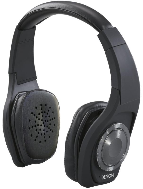 Denon AH-NC500BK Globe Cruiser On-Ear Wireless Headphones