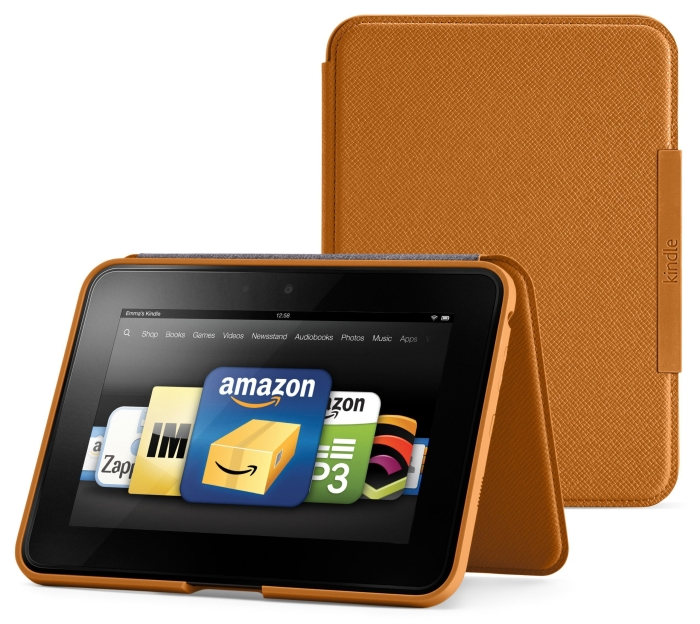 """Kindle Fire HD 7"""" Standing Leather Case"""