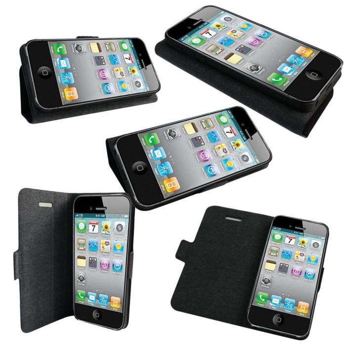 Premium Flip Folio Case for iPhone 5