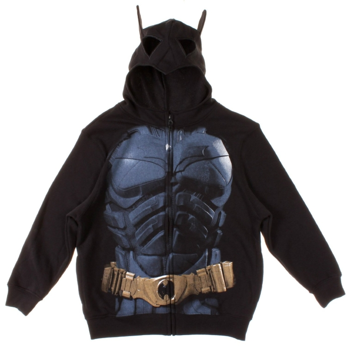 Dark Knight Rises Batman Costume Hoodie with Mask