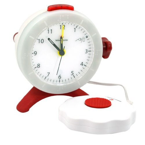 Analog Alarm Clock with Bed Shaker