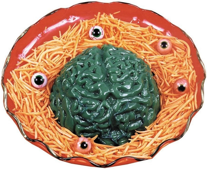 Brain Halloween Gelatin Mold