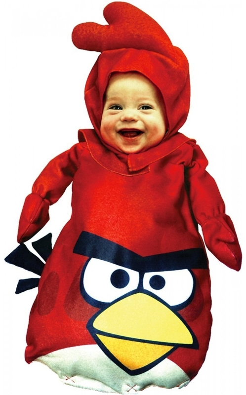 Angry Birds Red Bird Baby Bunting Costume