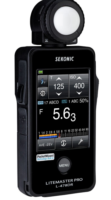 Sekonic Corporation 401-479 LITEMASTER PRO L-478DR Photographic Light Meter