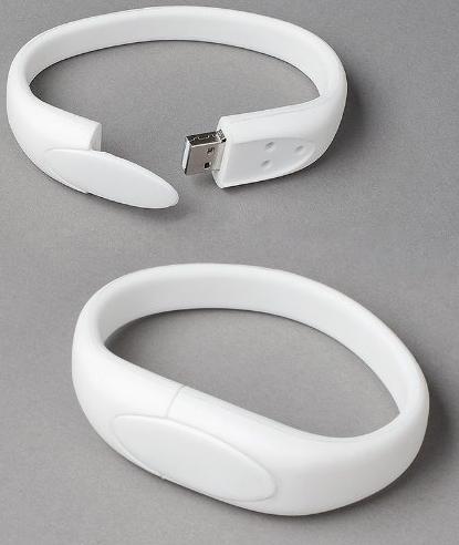 Wristband USB Flash Memory Drive 16GB