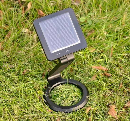 Solar Powered LED Lamp/Backup Charger