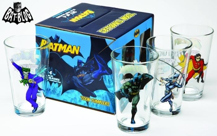 Batman Toon Tumblers Set of 4