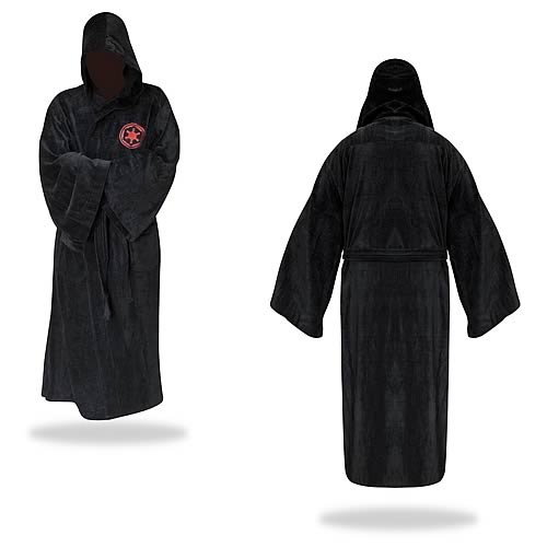 Star Wars Darth Maul Black Hooded Cotton Bath Robe