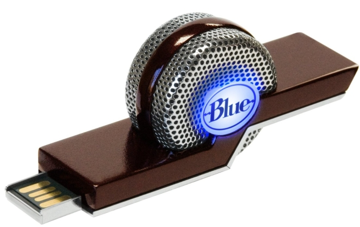 TIKI Dual-Mode Compact USB Condenser Microphone