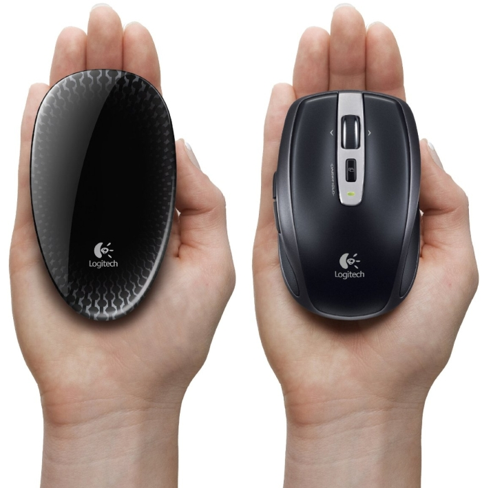 Logitech Touch Mouse T620 with Full Touch Surface for Windows 8