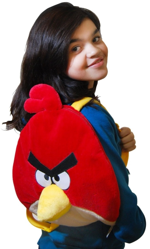 Angry Birds Plush Backpack, Red Bird