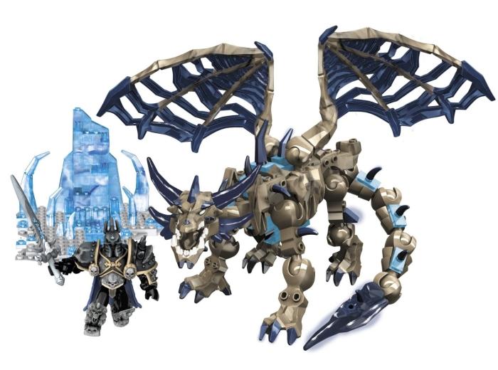 Mega Bloks World of Warcraft Arthas & Sindragosa