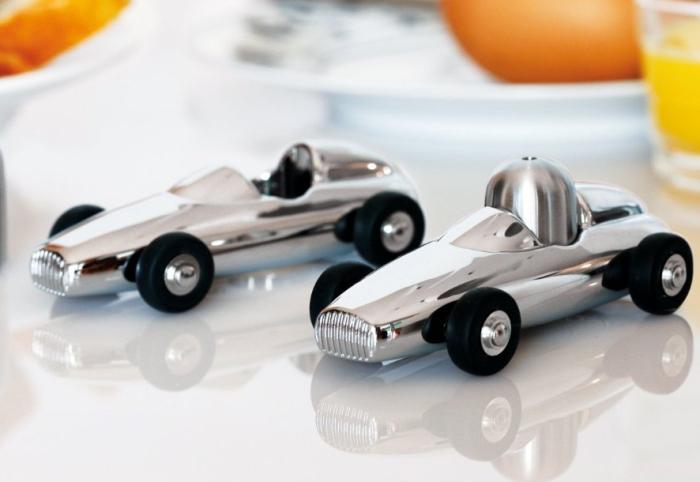 Salt and Pepper Shaker Racing Car