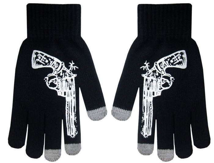 Touch Screen Knit Gloves with Conductive Fingertips for All Touch Screen Electronic