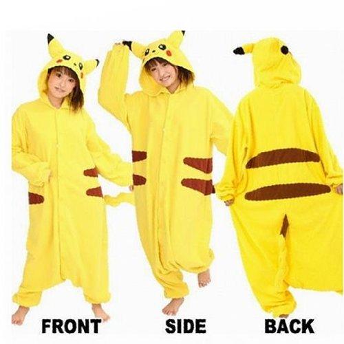 Pokemon Pikachu Adult Cosplay Costume