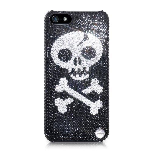 Skull Bones Swarovski Crystal iPhone 5 Cases