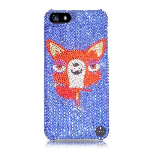 Fox Bling Swarovski Crystal iPhone 5 Cases