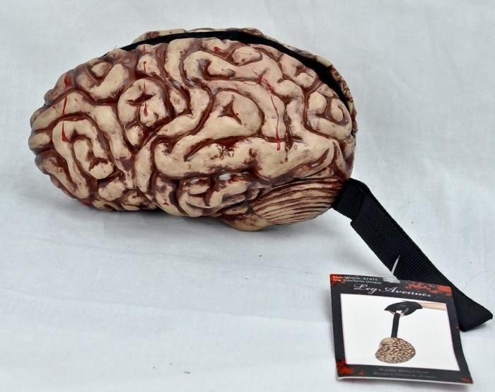 Zombie Brain Purse Gothic