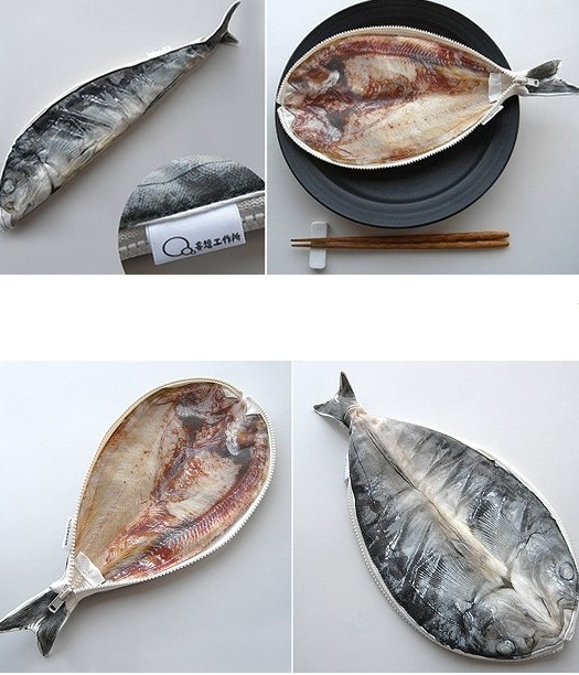 Japanese food pen pouch