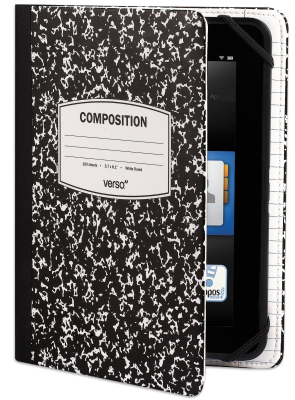 """Scholar Notebook Case for Kindle Fire HD 7"""""""