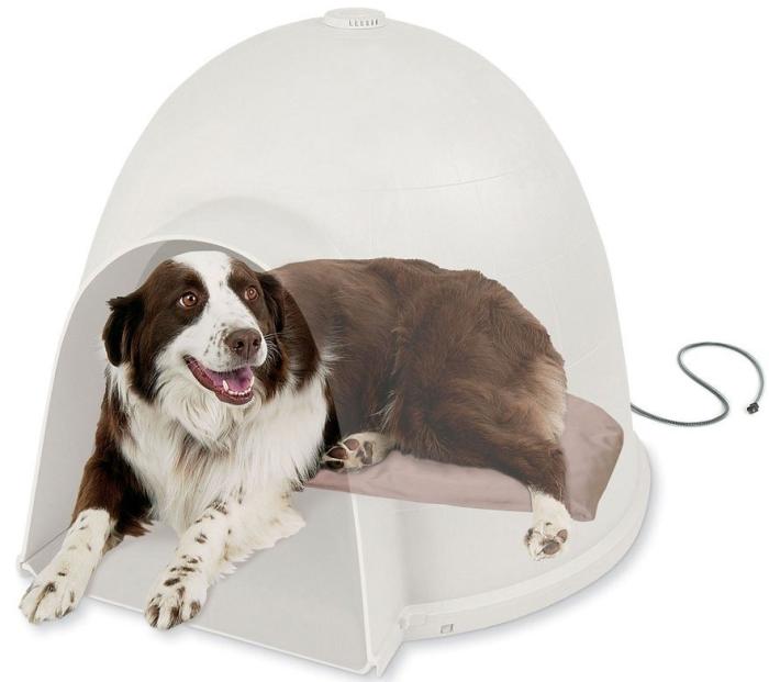 Lectro-Soft Igloo Style Dog Bed