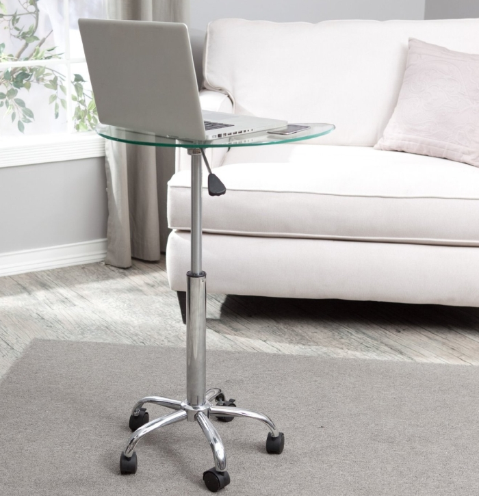 Clear Mobile Utility Laptop Desk