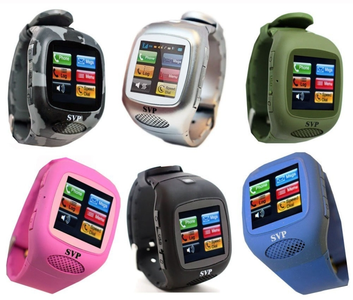 Touch Screen Camera MP3 GSM Watch Cell Phone